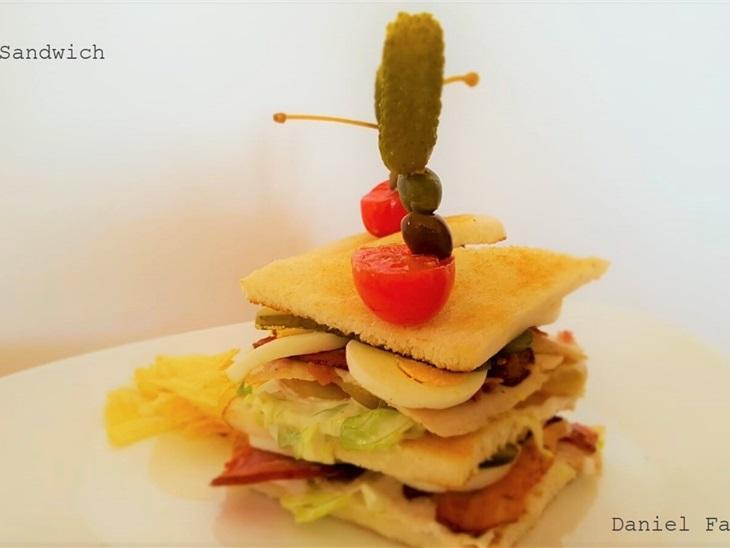 CLUB SANDWICH - Ricette Chef Stellati - Daniel Facen